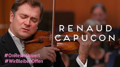 Renaud Capuçon und die Münchner Philharmoniker