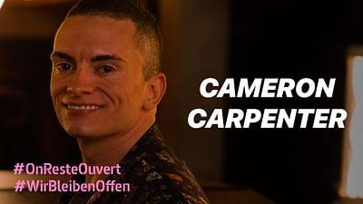 Cameron Carpenter vom Holzmarkt Berlin