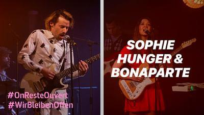Sophie Hunger & Bonaparte vom Holzmarkt Berlin