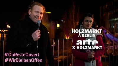 ARTE x Holzmarkt in Berlin - LIVE