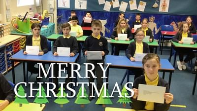 Wir basteln Weihnachtsdeko in England
