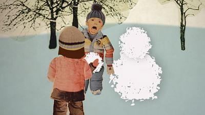 der Gegenstand: der Schneemann