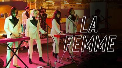 La Femme zu Gast bei Ground Control
