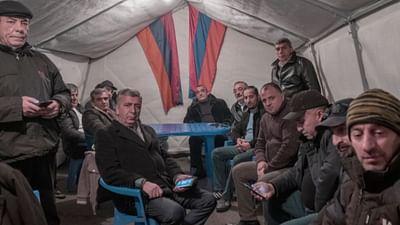 Armenien: Momentaufnahmen der Proteste gegen Paschinjan