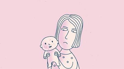 Warum bekommen Babys rote Flecken?