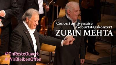 Geburtstagskonzert für Zubin Mehta zum 85.