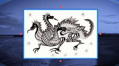 Der baskische Drache