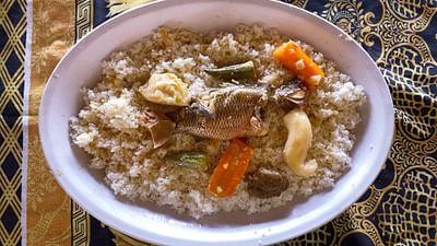 Senegal: Rosalines Fisch in Bissap