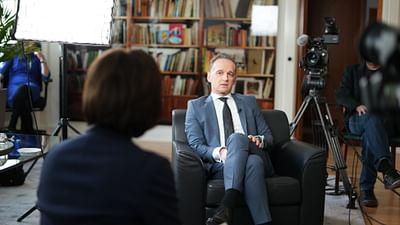 Heiko Maas im Gespräch mit Sandra Maischberger