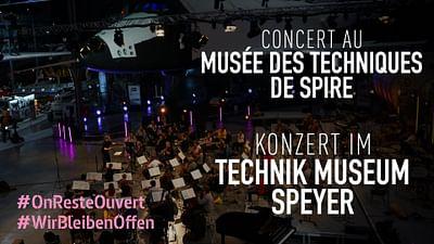 Die Deutsche Staatsphilharmonie Rheinland-Pfalz im Technik Museum Speyer