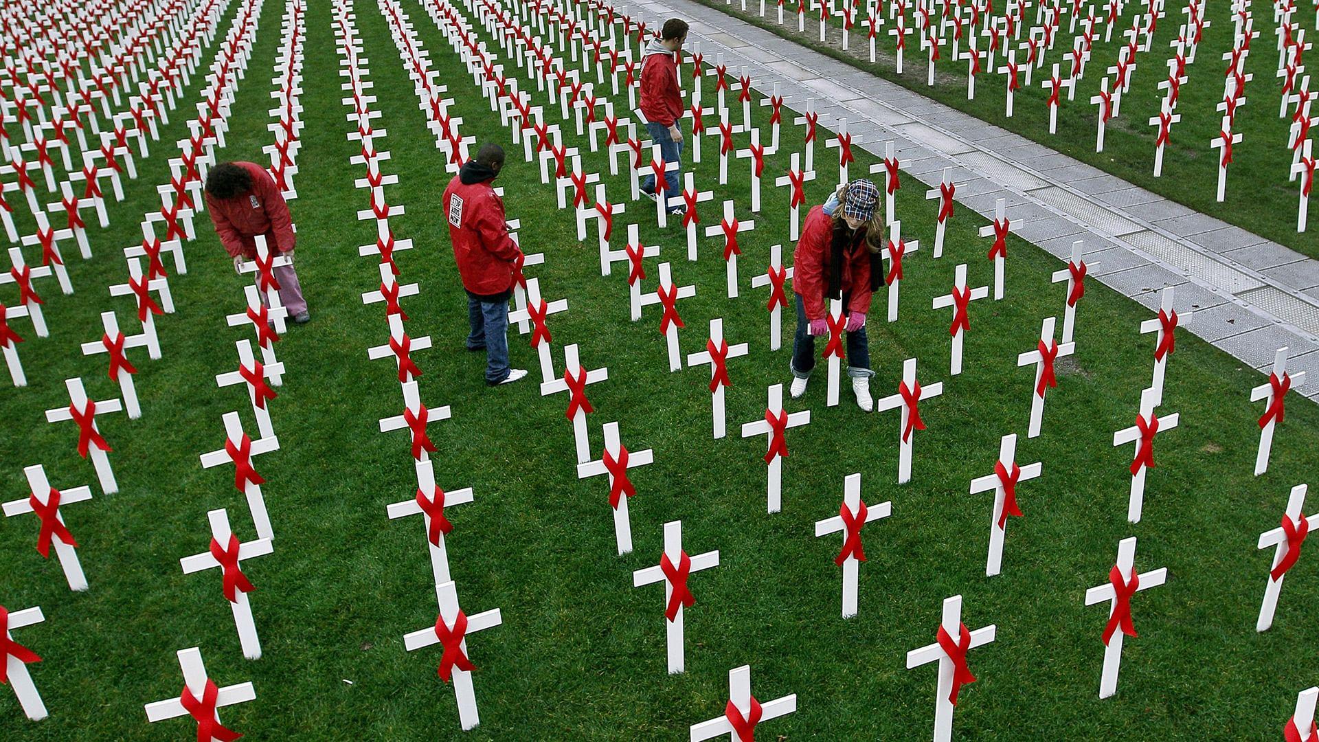 Welt-Aids-Tag: Experten warnen vor Rückschlag