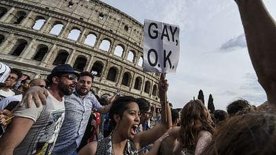 Italien: Der Regenbogen wehrt sich