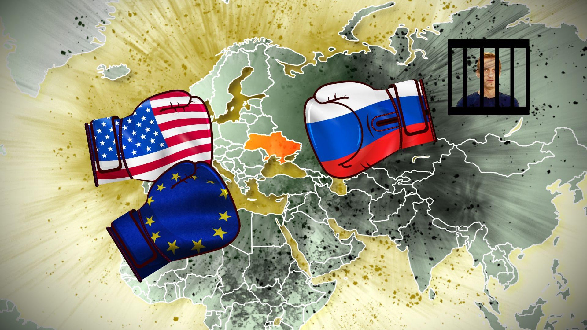 Russland gegen den Westen