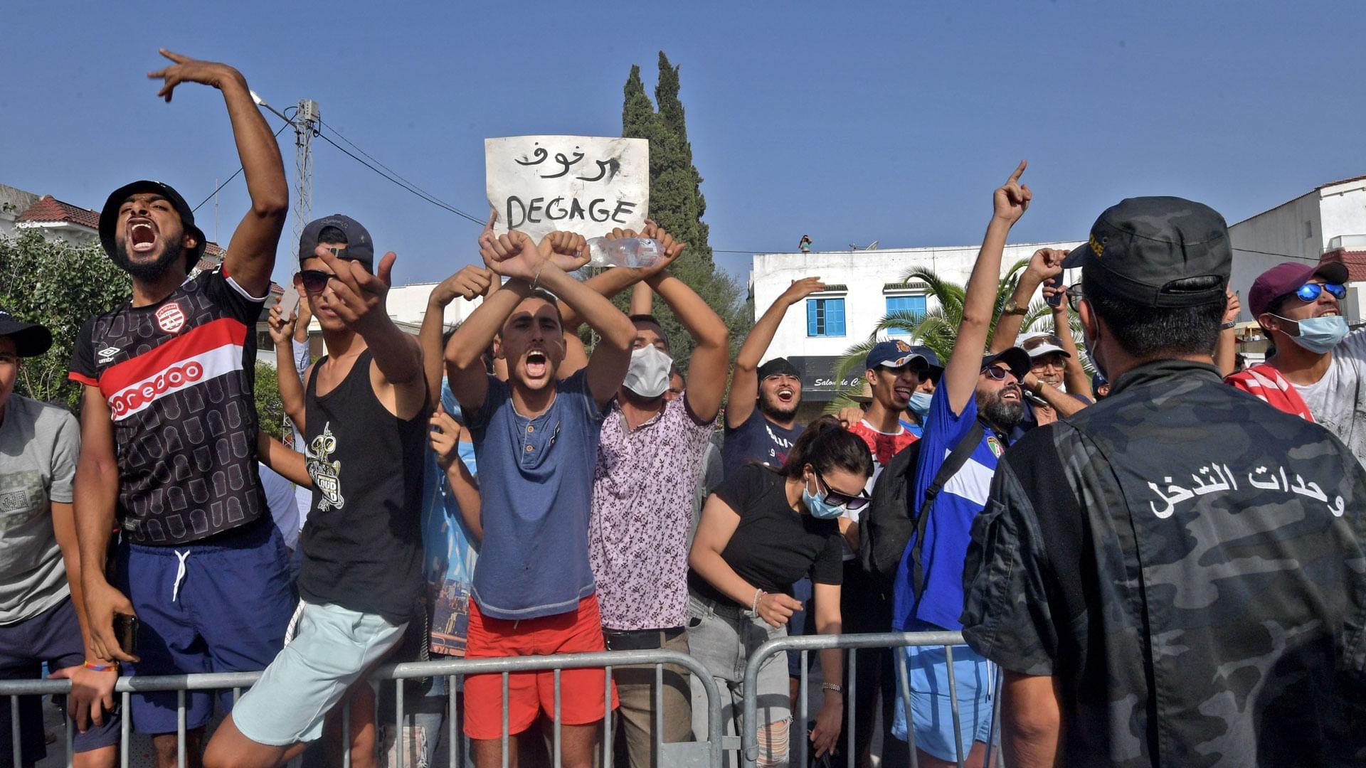 Politische Krise in Tunesien