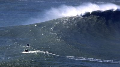 Big Wave Surfing in Portugal