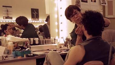Mastering an art: make-up