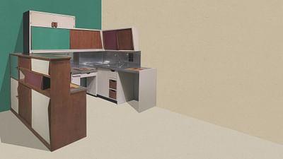 La Cité Radieuse Kitchen