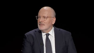 Meet the top candidates: Frans Timmermans