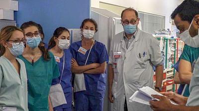 A Paris Hospital Fights Covid
