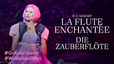"""Mozart: """"The Magic Flute"""" from the Semperoper in Dresden"""