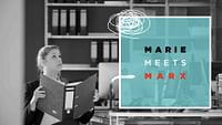Marie is an ordinary person who keeps meeting Karl Marx in unlikely locations: At the supermarket or at the local fast-food joint, Marx's analysis of society still seems relevant. But Marie does not always agree…