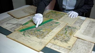 La digitalización de mapas antiguos