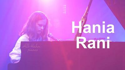 Hania Rani en el Eurosonic