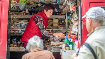 Una vendedora con corazón