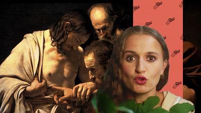 """""""La incredulidad de Santo Tomás"""", de Caravaggio"""
