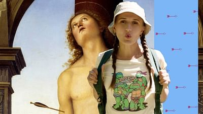"""San Sebastián"", de Perugino"