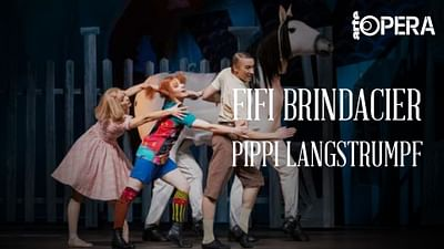Pippi Calzaslargas en la ópera de Helsinki