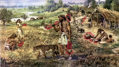El hacha pulimentada del Neolítico