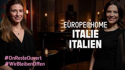 Daniel Hope con Francesca Dotto y Helen Collyer