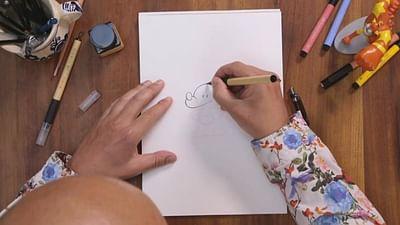 """Tebo, dessine-nous """"ton"""" Mickey"""