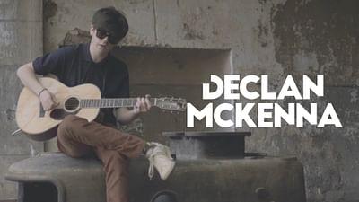 Declan McKenna en session Walking the Line