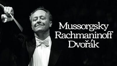 Emmanuel Krivine dirige Moussorgski, Rachmaninov et Dvořák