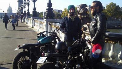 À 100% - Fred et Hugo, amoureux des motos, Paris