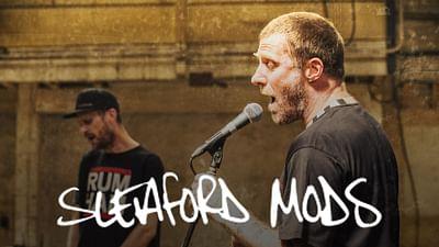 Sleaford Mods en Release Party