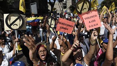 Venezuela : délit de manifestation