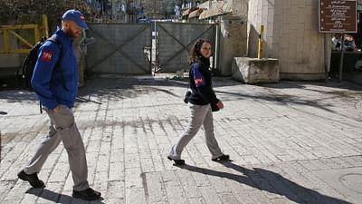 La fin des observateurs internationaux à Hébron