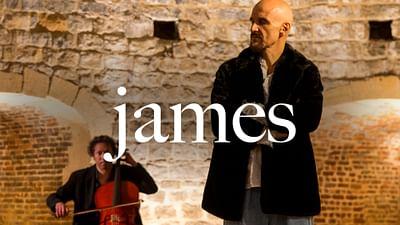 James en session Walking the Line