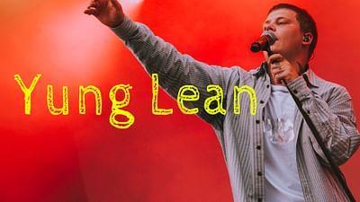 Yung Lean au MELT Festival 2019