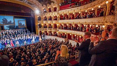 Concert de fête à l'Opéra de Prague