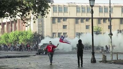 Chili : la classe moyenne dans la rue
