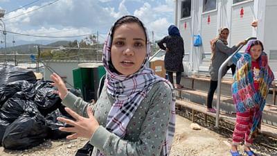 Camp de Moria : les femmes particulièrement vulnérables