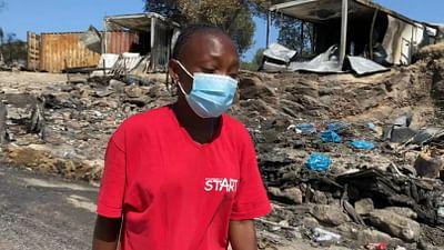 Moria : après l'incendie, le désespoir des réfugiés