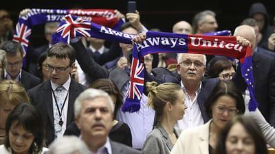 """""""Goodbye Brussels"""" : départ des eurodéputés britanniques"""