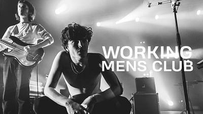 Working Men's Club à La Route du Rock Hiver (2020)