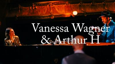Vanessa Wagner invite Arthur H à ARTE Concert fait son Piano Day