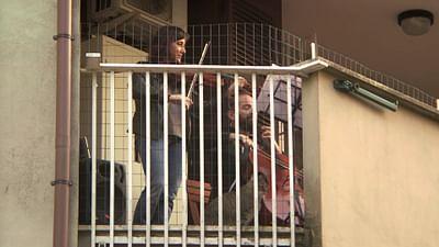Italie : la musique au balcon